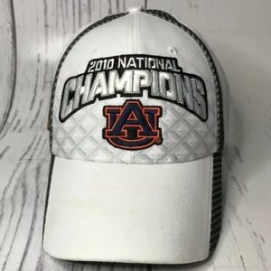 2010 National Champions Auburn University Nike Hat